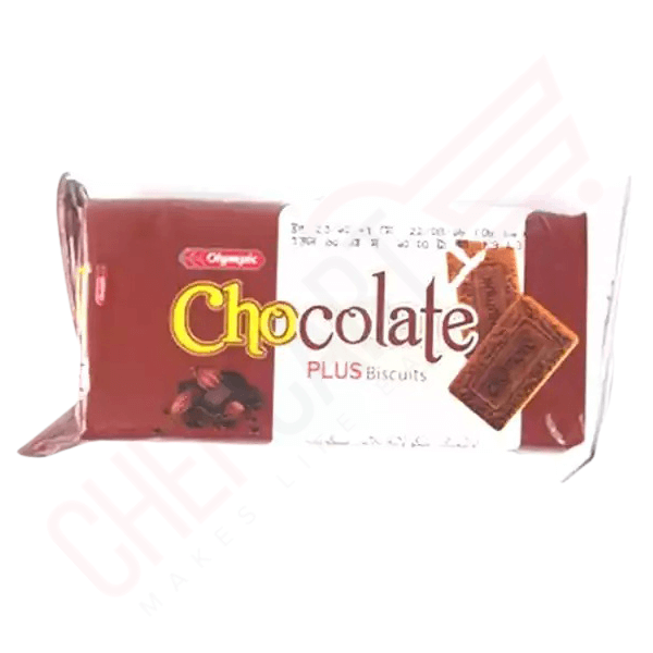Olympic Chocolate Plus Biscuits 65 gm | choco biscuit price