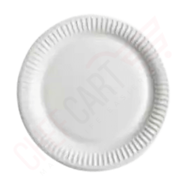 One Time Plastic Plate 100 pcs | one-time plate price in bd