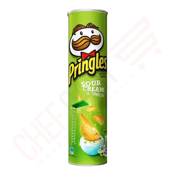 Pringles Sour Cream & Onion Potato Chips | pringles price bd