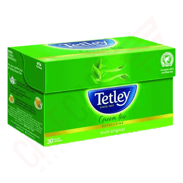 Tetley Green Tea (Pure Original) Tea Bags 25 pcs | Green Tea price bd