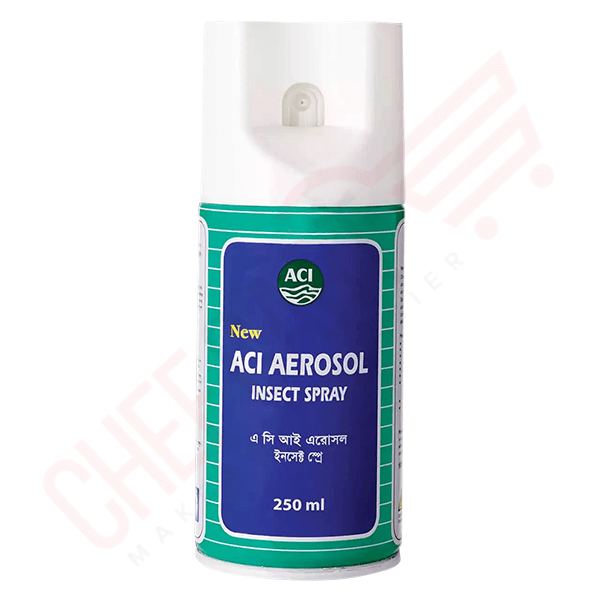 ACI Aerosol Insect Spray 250ml | aci aerosol spray price in bd