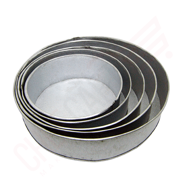 round cake mould aluminum set | cake pan price in Bangladesh