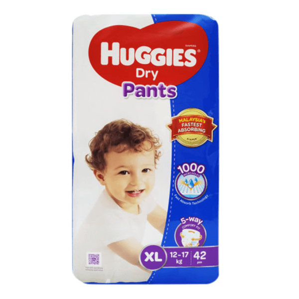 Huggies Dry XL Pant Diaper 12-17Kg 42 pcs | huggies diapers price bd