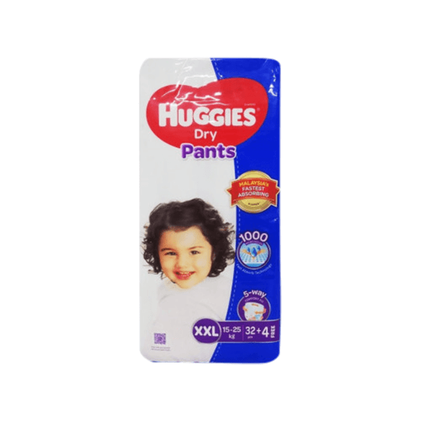 Huggies Dry XXL Pant Diaper 15-25Kg | huggies diaper price in BD