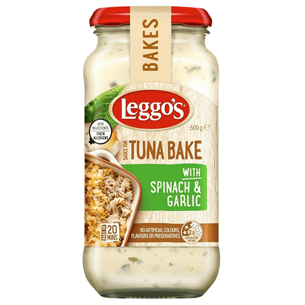 Leggo's Tuna Bake Sause with Spinach & Garlic 500g price in Bangladesh