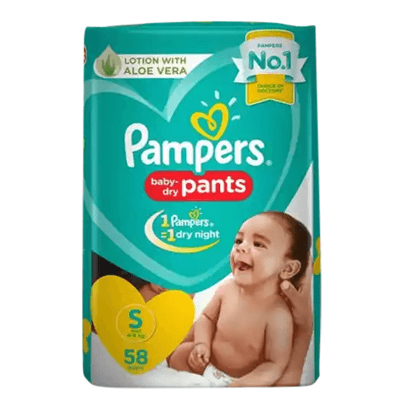 Pampers Pants S 4-8kg 36pcs | Buy diapers online in Bangladesh