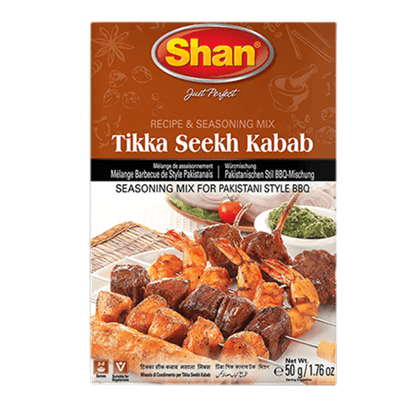 Buy Shan tikka seekh kabab 50g | shan bbq masala price in bd