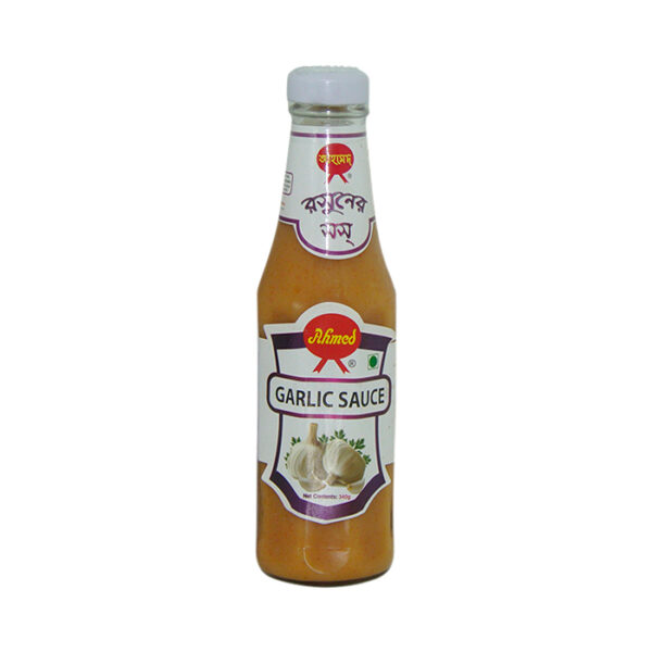 Ahmed Garlic Sauce 340gm | garlic sauce price in bangladesh