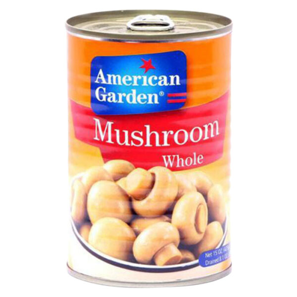 American Garden Mashroom whole 425g | mushroom can price in bd