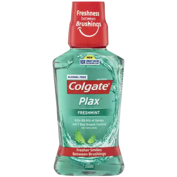 Colgate Plax Freshmint Mouth Wash | colgate mouthwash price in bd