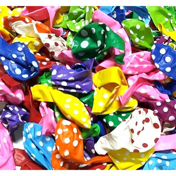 Dot Balloons 100pcs | birthday balloons price in bangladesh