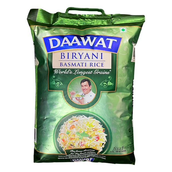 Daawat Biryani Basmti Rice 5kg | basmati rice price in bd