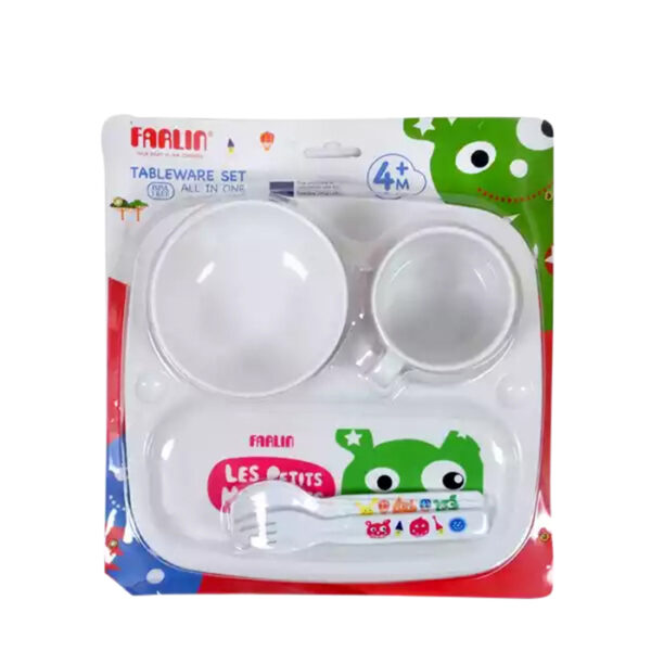Farlin Tableware Set All in One | baby crockeries price in bd