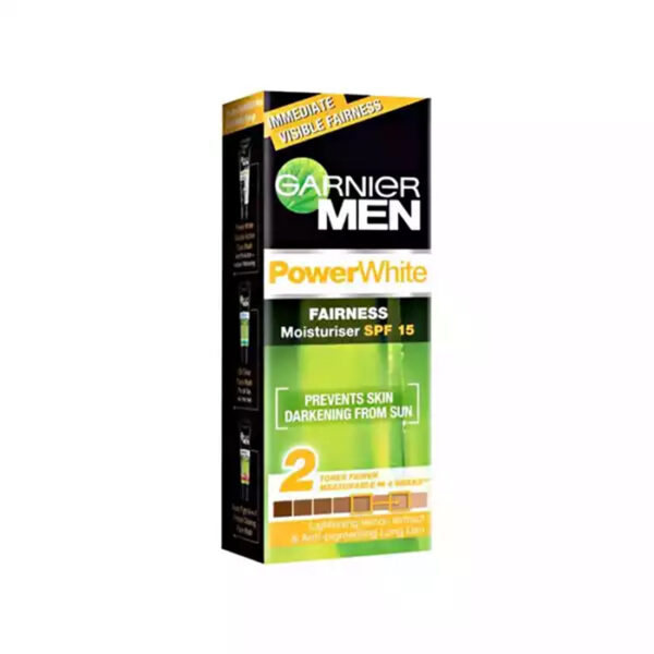 Garnier Men Power White Fairness Moisturiser Cream 20gm price bd