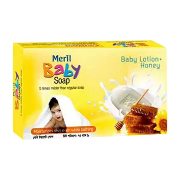 Meril Baby Honey Mild soap 75gm | baby soap price in bd