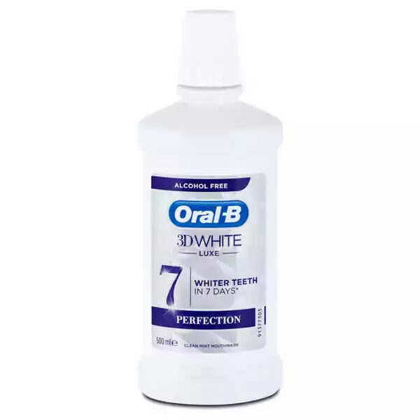 Oral-B 3D White Mouth Wash | oral b mouthwash price in bangladesh