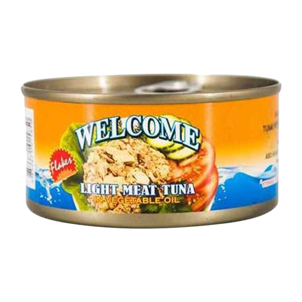 Welcome Light meat tuna in vegetable oil 170g | canned tuna fish price bd