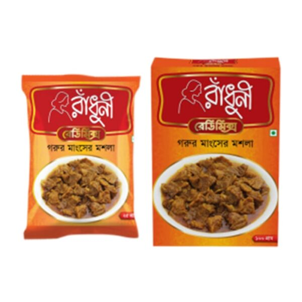Radhuni Ready Mix Goru Mangsher mosla 100g