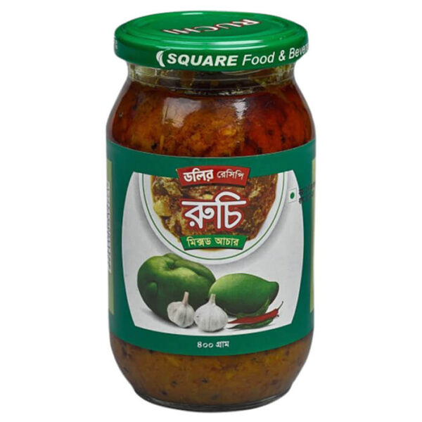 Ruchi Mixed Pickle 400gm