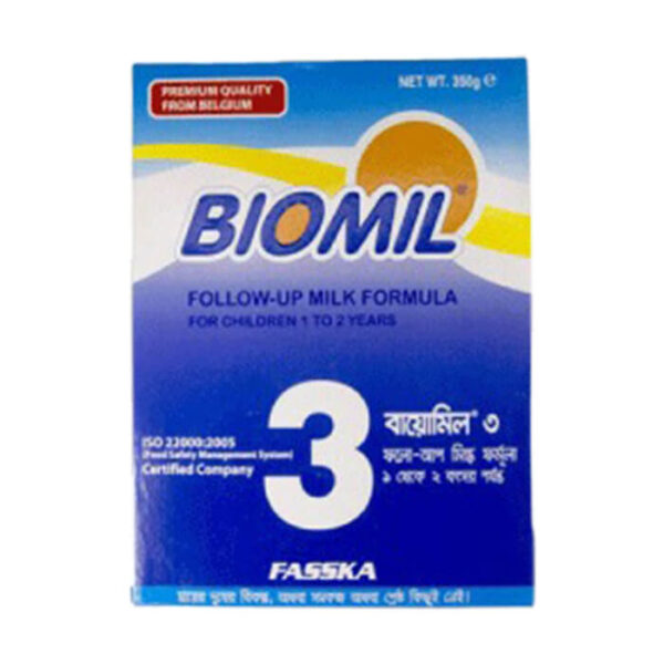 Biomil-3- Follow up formula milk from 1 to 2 years 350g