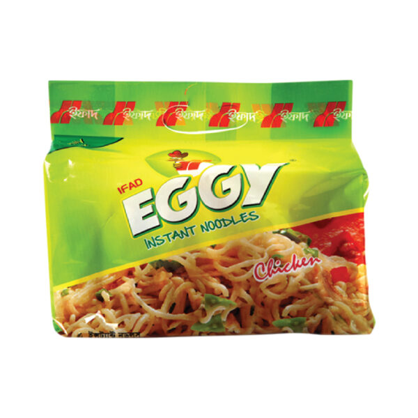 Ifad Eggy Instant Noodles Chicken 8pcs-260-gm